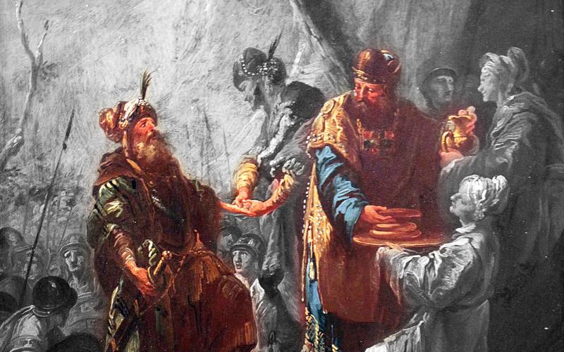 Cristo Ahnsahnghong—-Jesús vino según el orden de Melquisedec—-IDDSMM